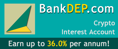 Deposit Crypto. Up to 18.0% p.a. interest!